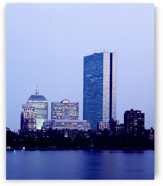 Boston View at Dusk by Tony Tudor