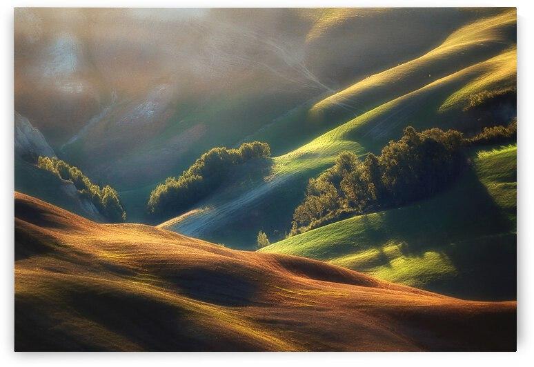 Tuscany Sunrise by 1x