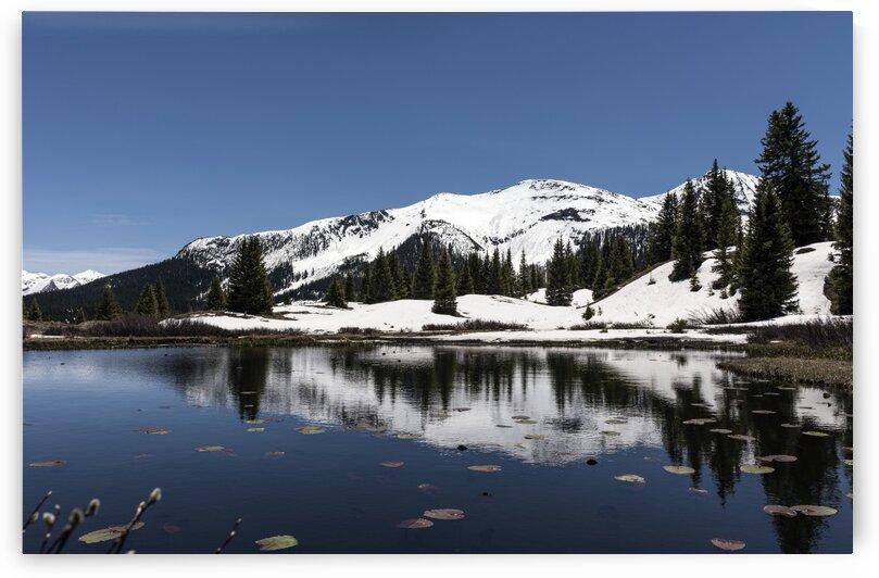 Lake Molas in the San Juan Mountain by Tony Tudor