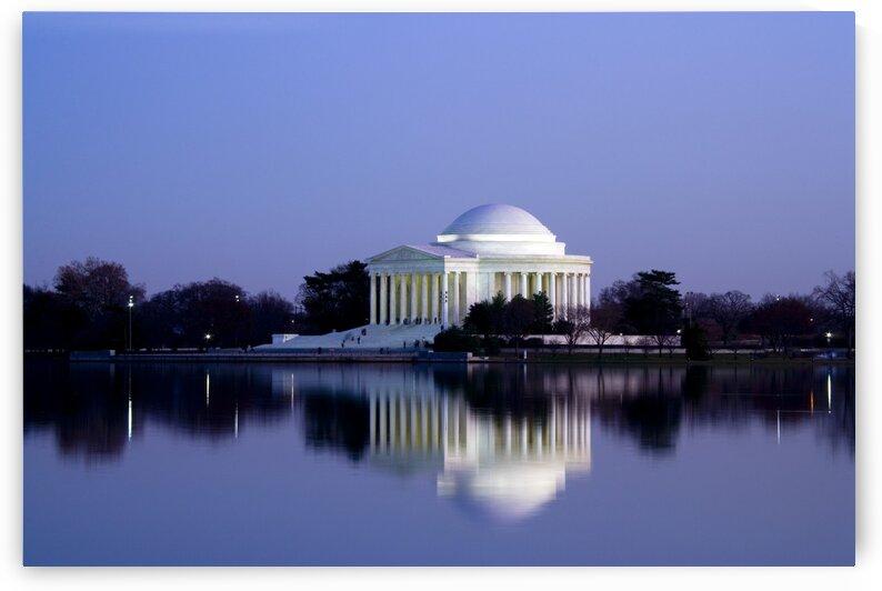 Jefferson Memorial  Washington by Tony Tudor