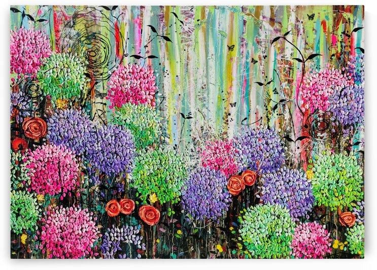 Summer Garden  by Angie Wright Art