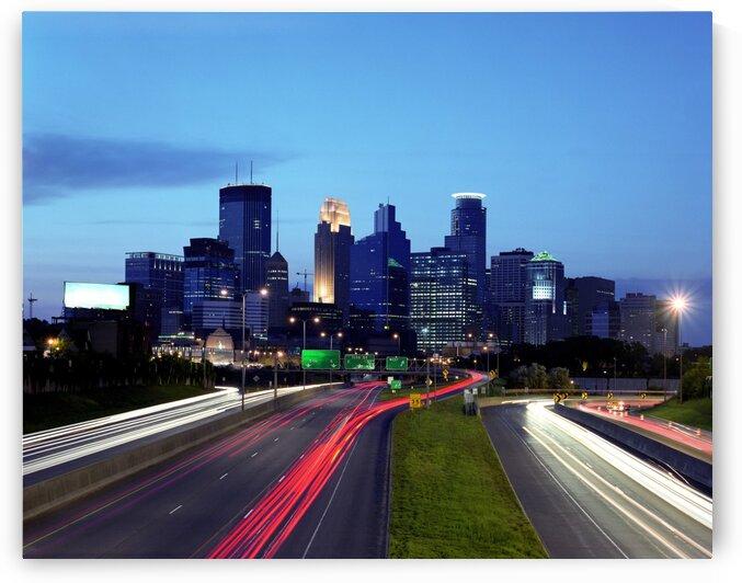 Minneapolis View by Tony Tudor