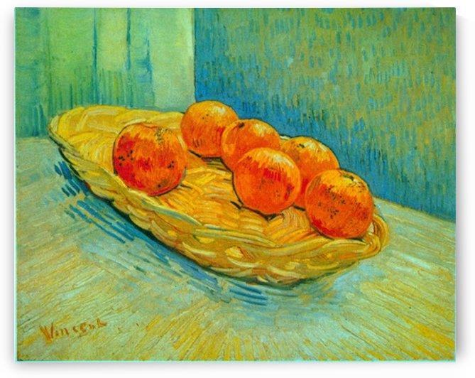 Six Oranges by Van Gogh by Van Gogh