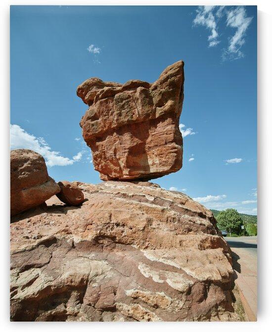 The Garden of the Gods  a public park in Colorado Springs Colorado USA by Tony Tudor