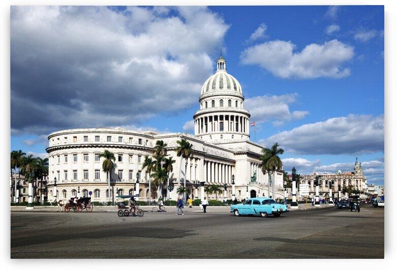 The Havana Capitol by Tony Tudor