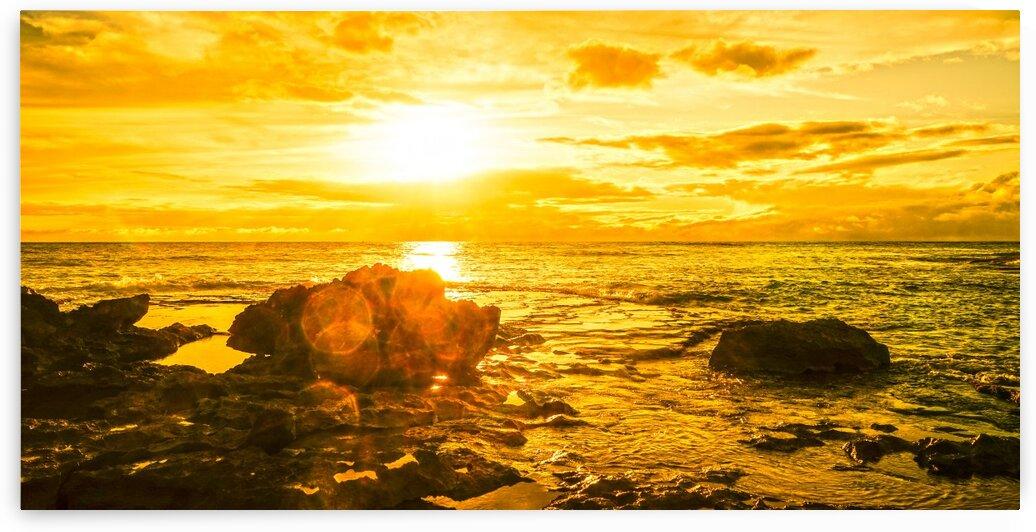 Majestic Sunset Panorama by 1North