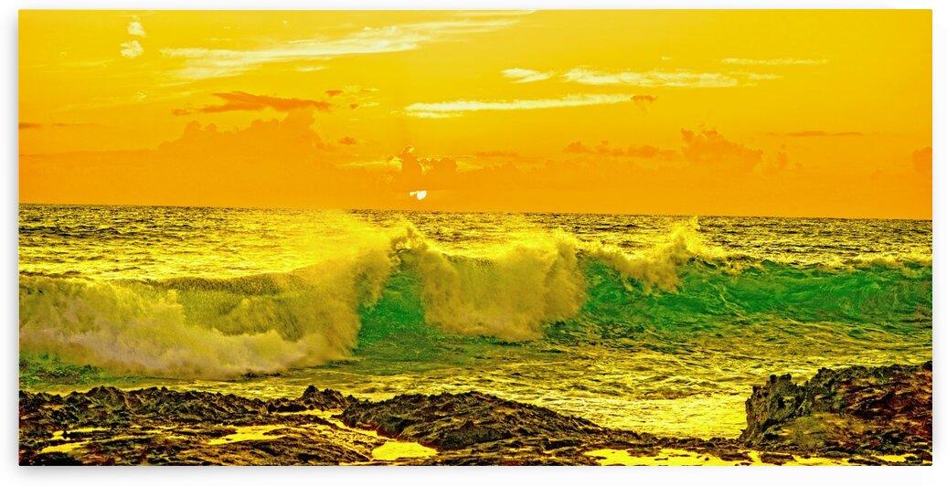 At the Sea Shore Panorama by 1North