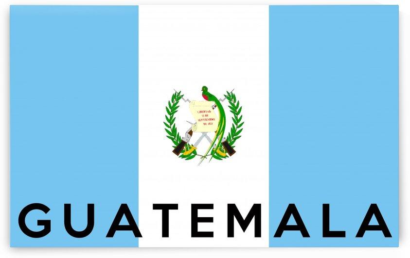 Guatemala name by Tony Tudor