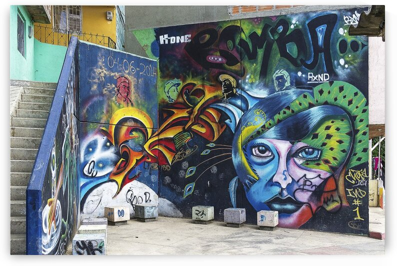 Background Graffiti by Lovely and Nicely
