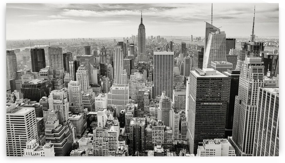 Manhattan New York - Top View by Lovely and Nicely