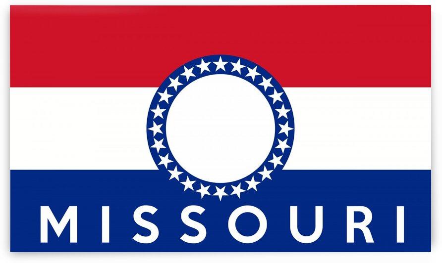 Missouri flag name by Tony Tudor