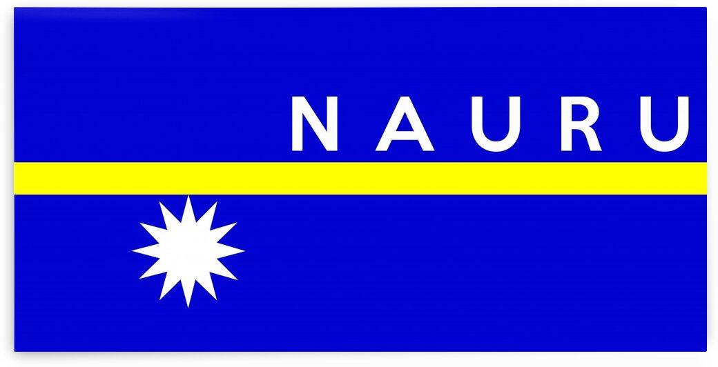Nauru name by Tony Tudor