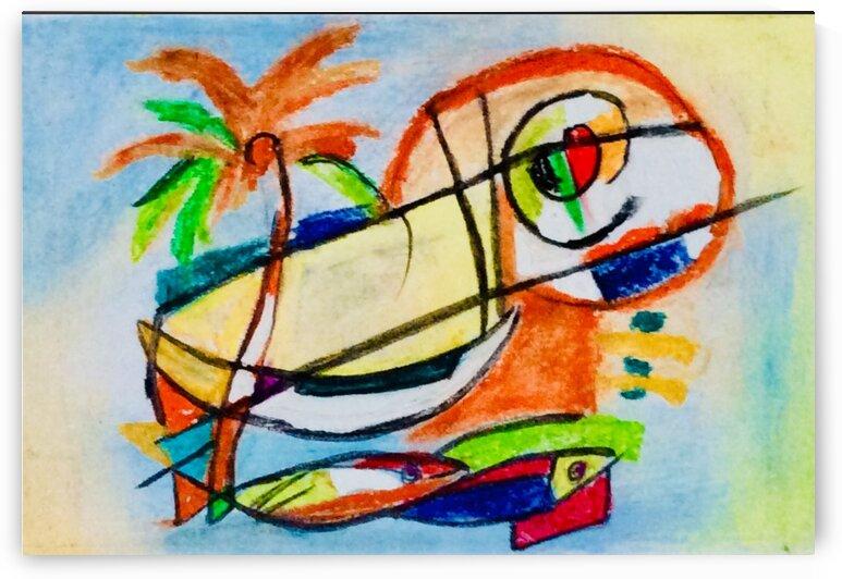 Gone fishing  by Zaramar Paintings