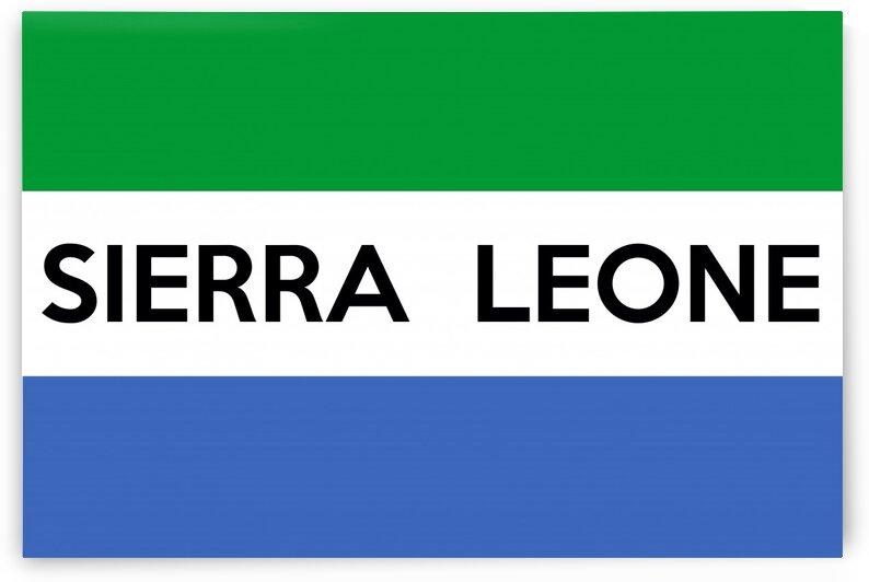 Siera Leone name by Tony Tudor