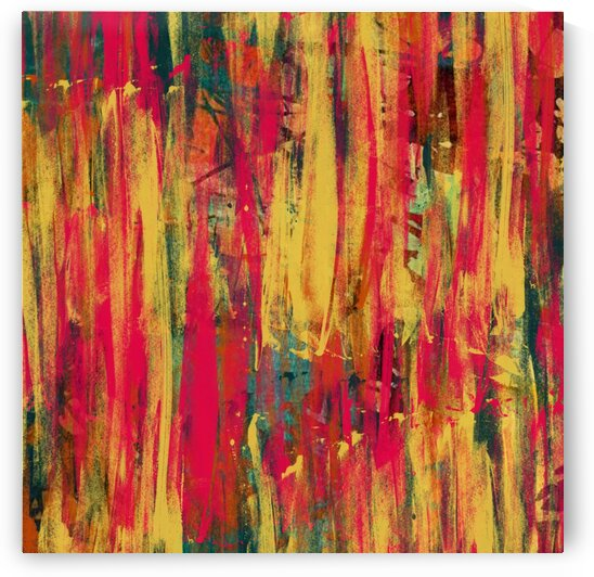 Abstract brush strokes in the style of impressionism. by Ievgeniia Bidiuk