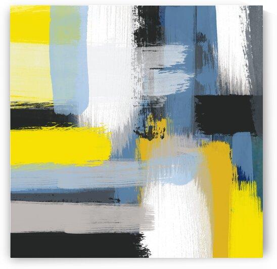 Warm abstract comfort. by Ievgeniia Bidiuk