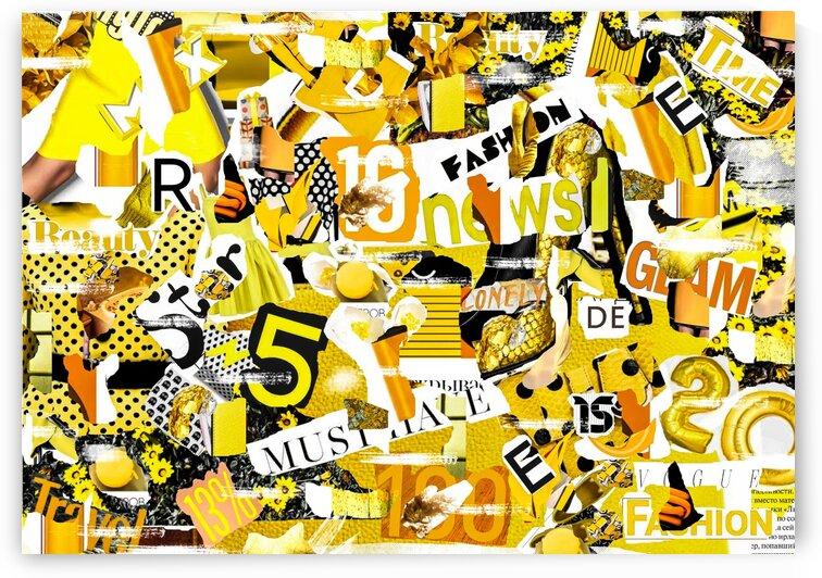 Creative vintage collage. by Ievgeniia Bidiuk