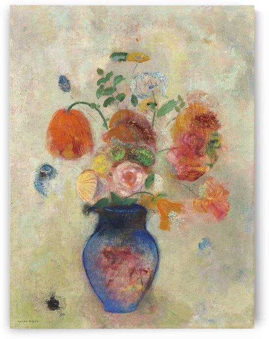 Large Vase with Flowers by Tony Tudor
