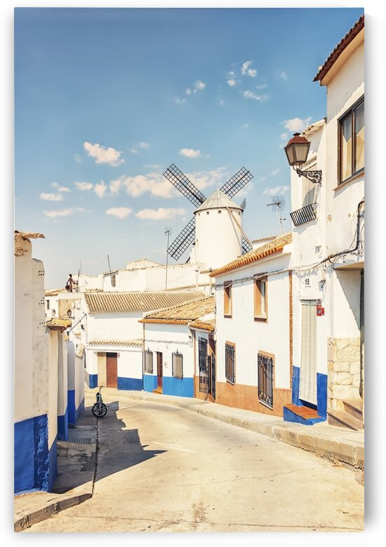 Village in La Mancha by Manjik Pictures