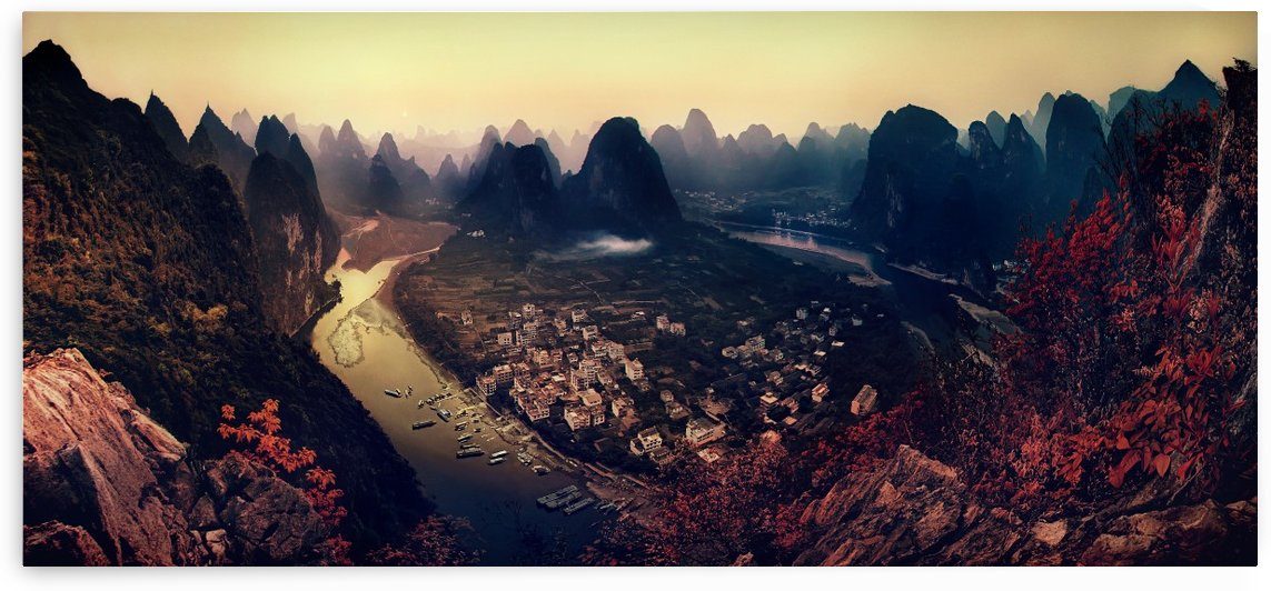 The Karst Mountains of Guangxi by 1x