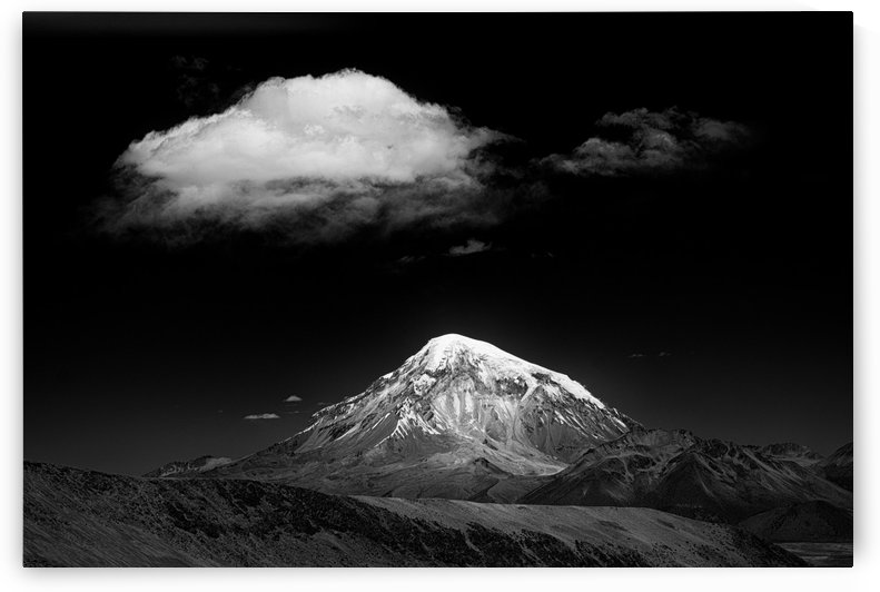 mountain and cloud by 1x