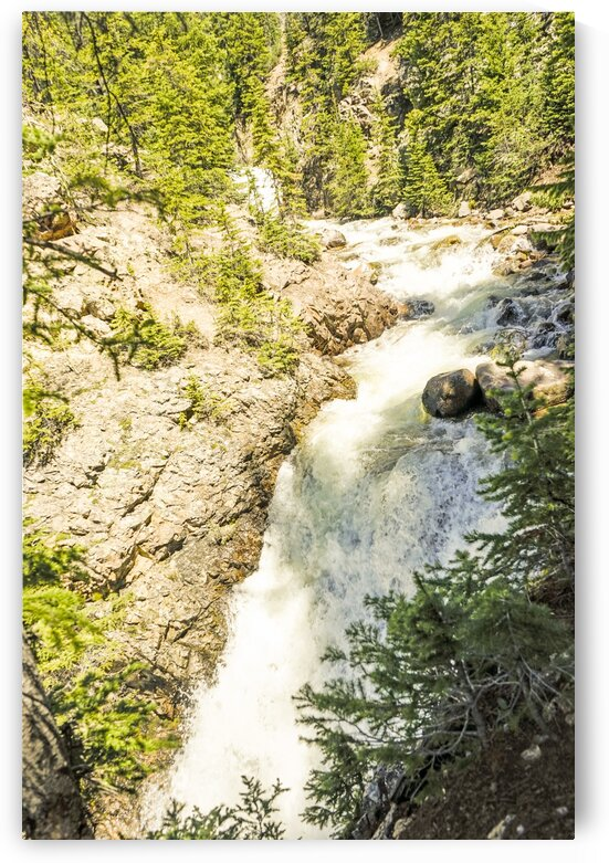 Rocky Mountain Rapids and Waterfalls 6 of 8 by 1North