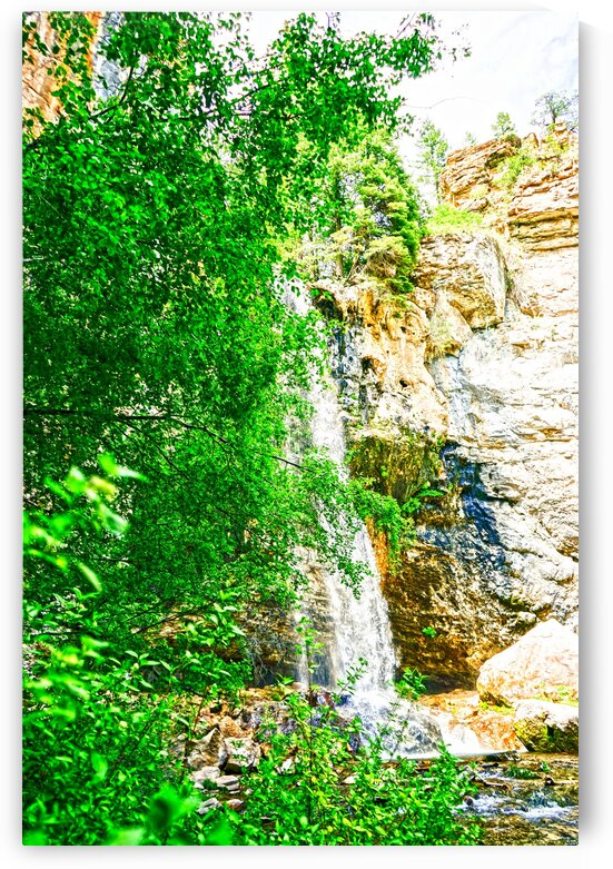 Waterfall Country Colorado 2 of 4 by 24