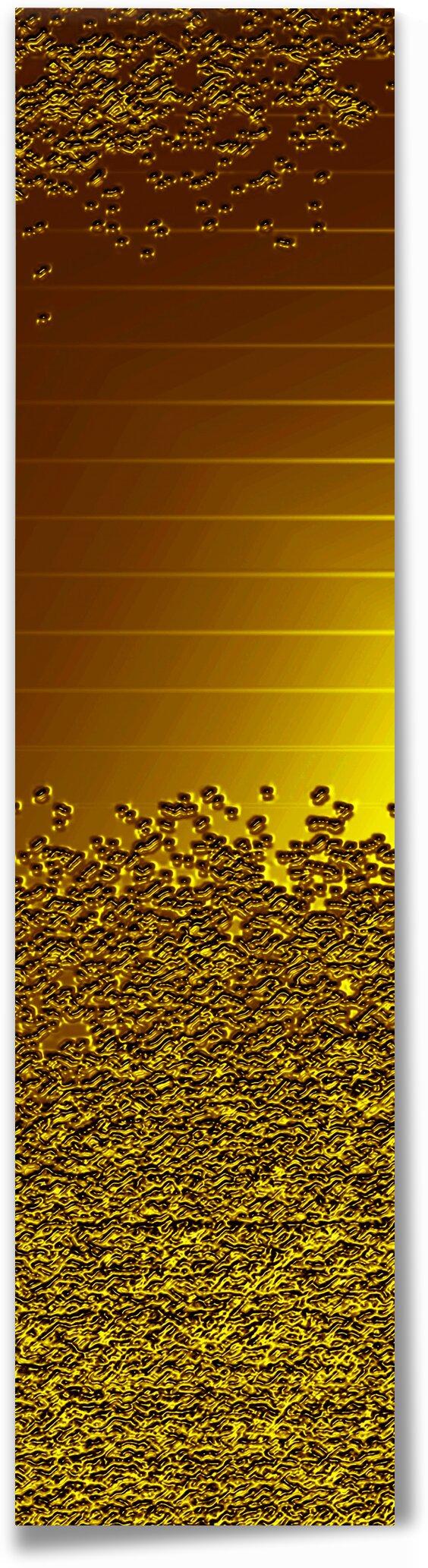 Golden - Flakes by Irmus Design
