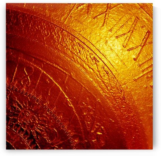 Emotion of Time - Orange by Irmus Design