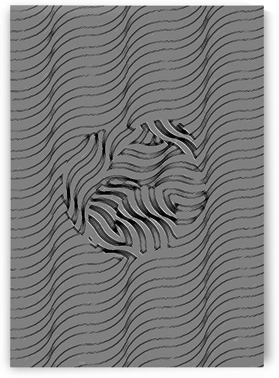 Blend Together - Grey & Black by Irmus Design