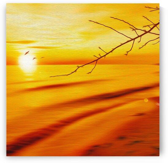 The first sun. by Ievgeniia Bidiuk