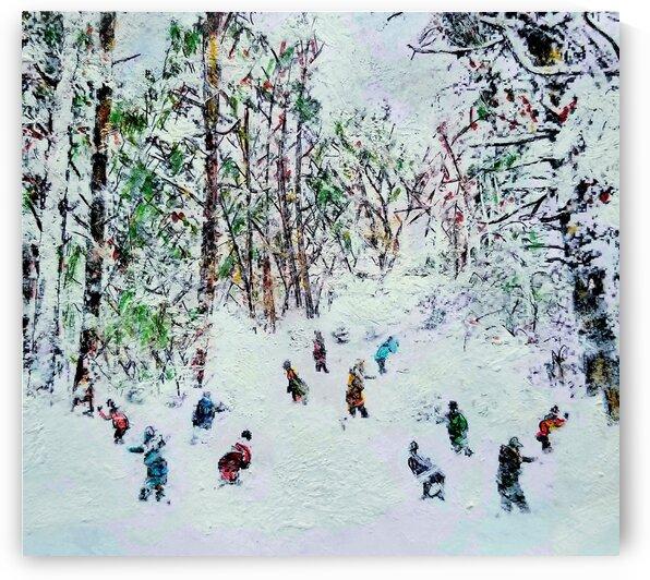 Snow Wars by djjf
