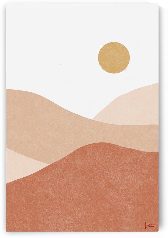 Desert Mountains 5 by Neena