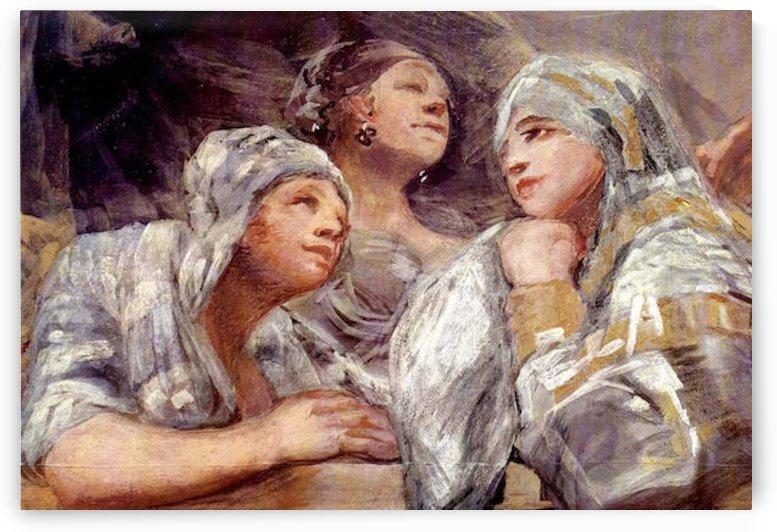 Spectators by Goya by Goya