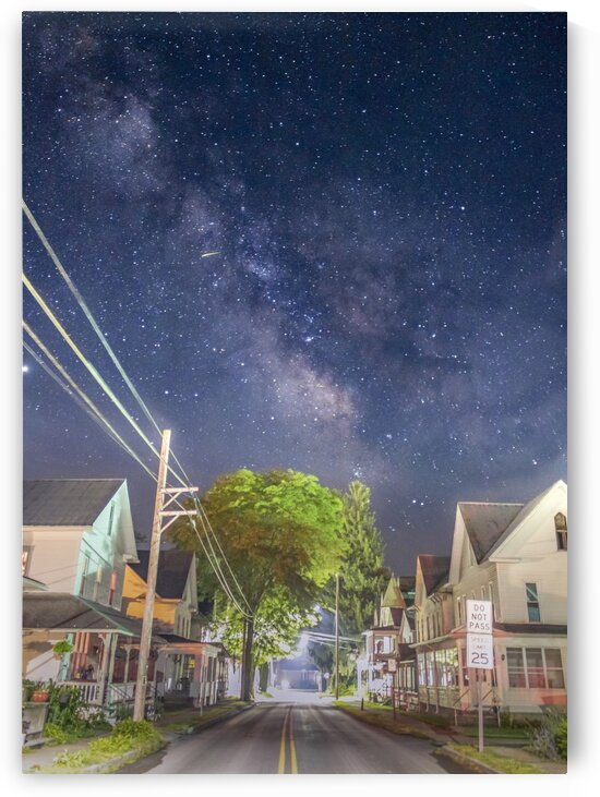Milky Way Penns St by Heather Scully