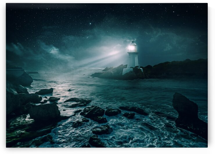 Lighthouse by One Simple Gallery