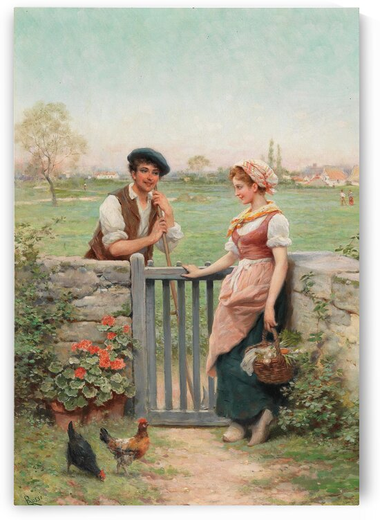Pretty Lady And The Suitor_OSG by One Simple Gallery