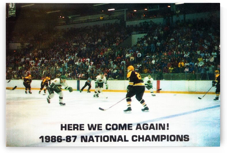 1987 University of North Dakota Hockey by Row One Brand