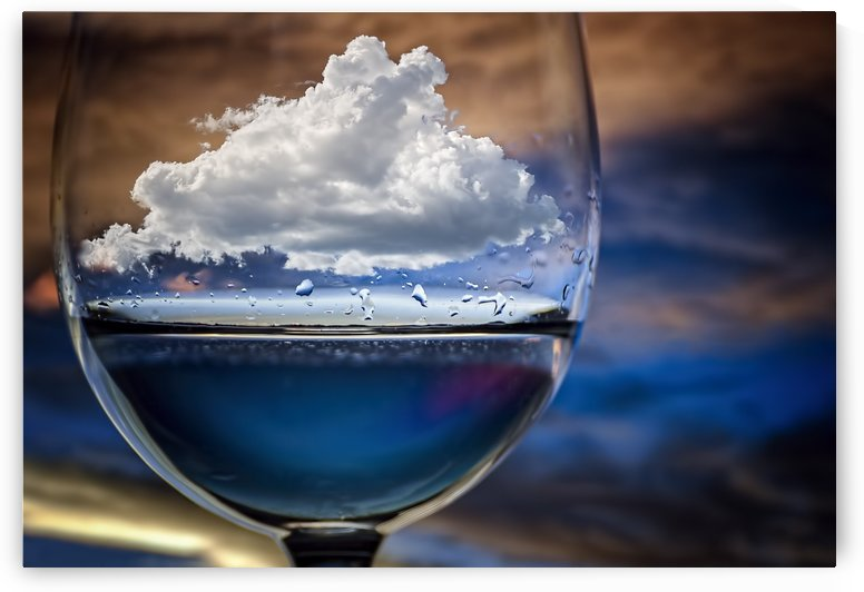 Cloud in a glass by Chechi Peinado  by 1x