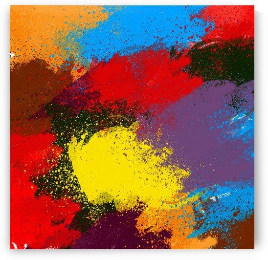 Abstract chaos. by Ievgeniia Bidiuk