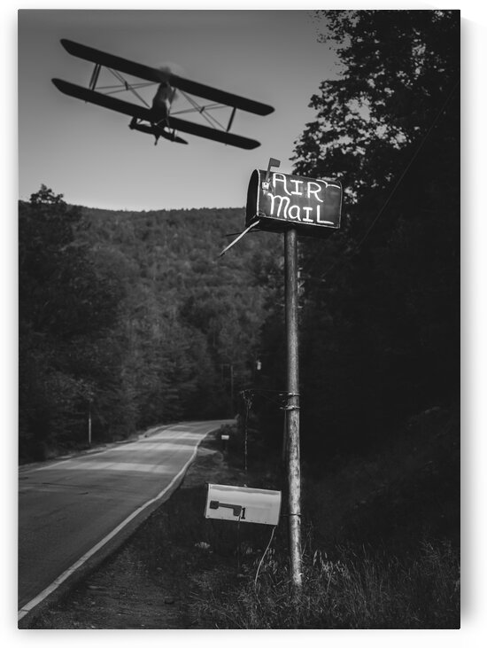 Air Mail Delivery by Bob Orsillo