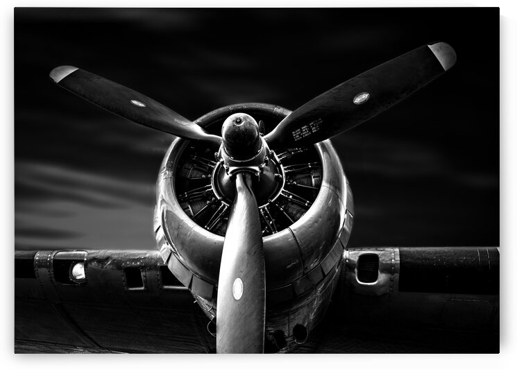 Wright Cyclone Boeing B17 by Bob Orsillo