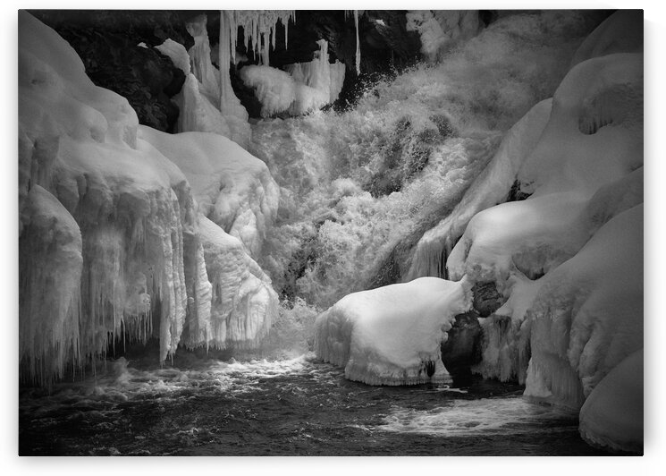 Early Spring Great Falls by Bob Orsillo
