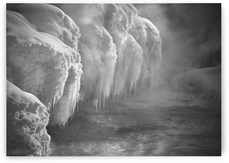 Winter River Smoke by Bob Orsillo