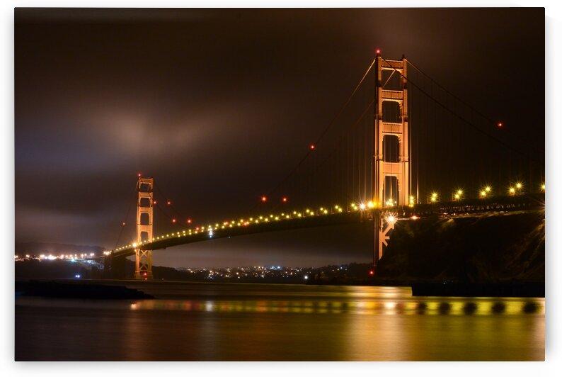 Golden Gate Bridge Extended Exposure by Greg Scafidi Photography