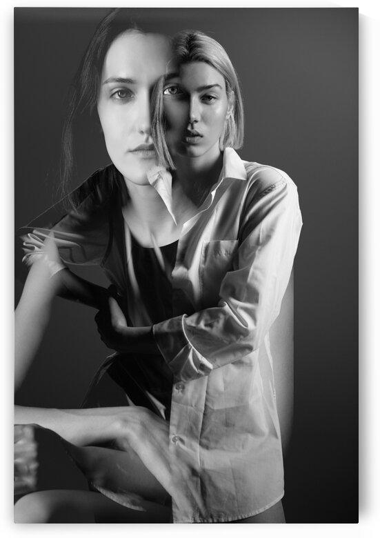 Double exposure. Fashion II by Aquamarine