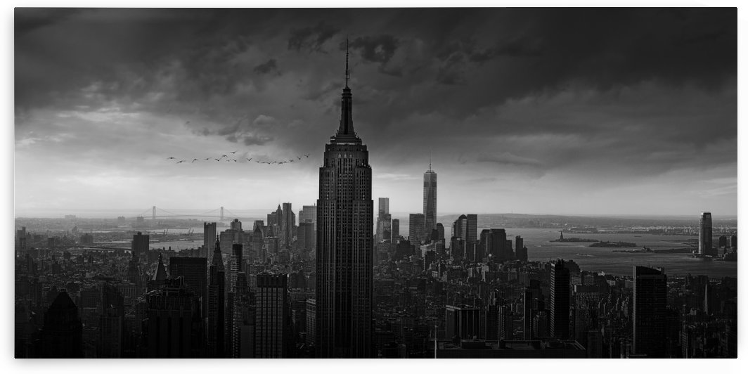 New York Rockefeller View by 1x