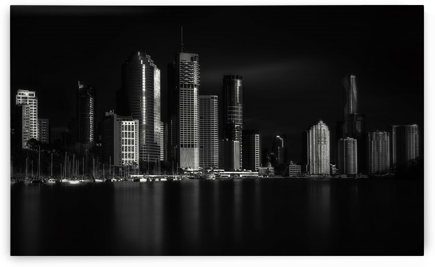 Brisbane City of Light by 1x
