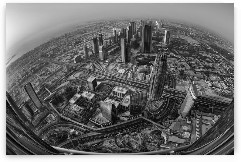 Dubai at the Top by Robert Work  by 1x