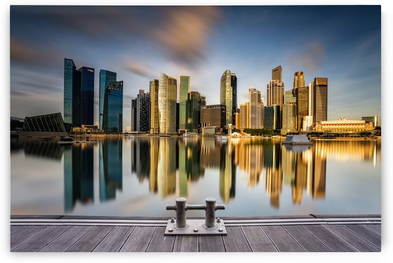 Golden Morning in SIngapore by 1x